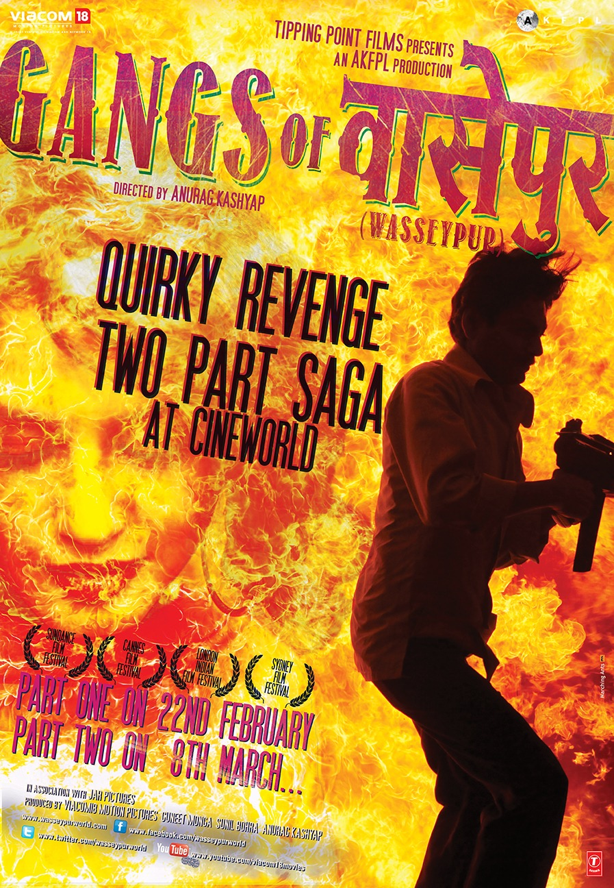Gangs Of Wasseypur Movie Poster Designs