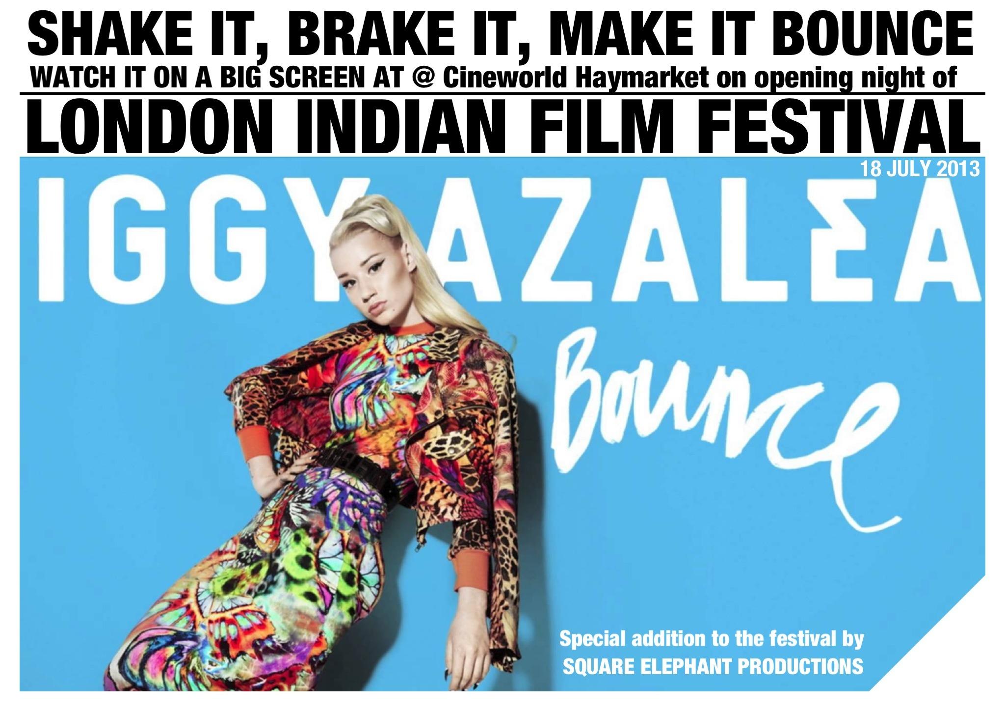 DCP for Iggy Azalea Music Video Bounce