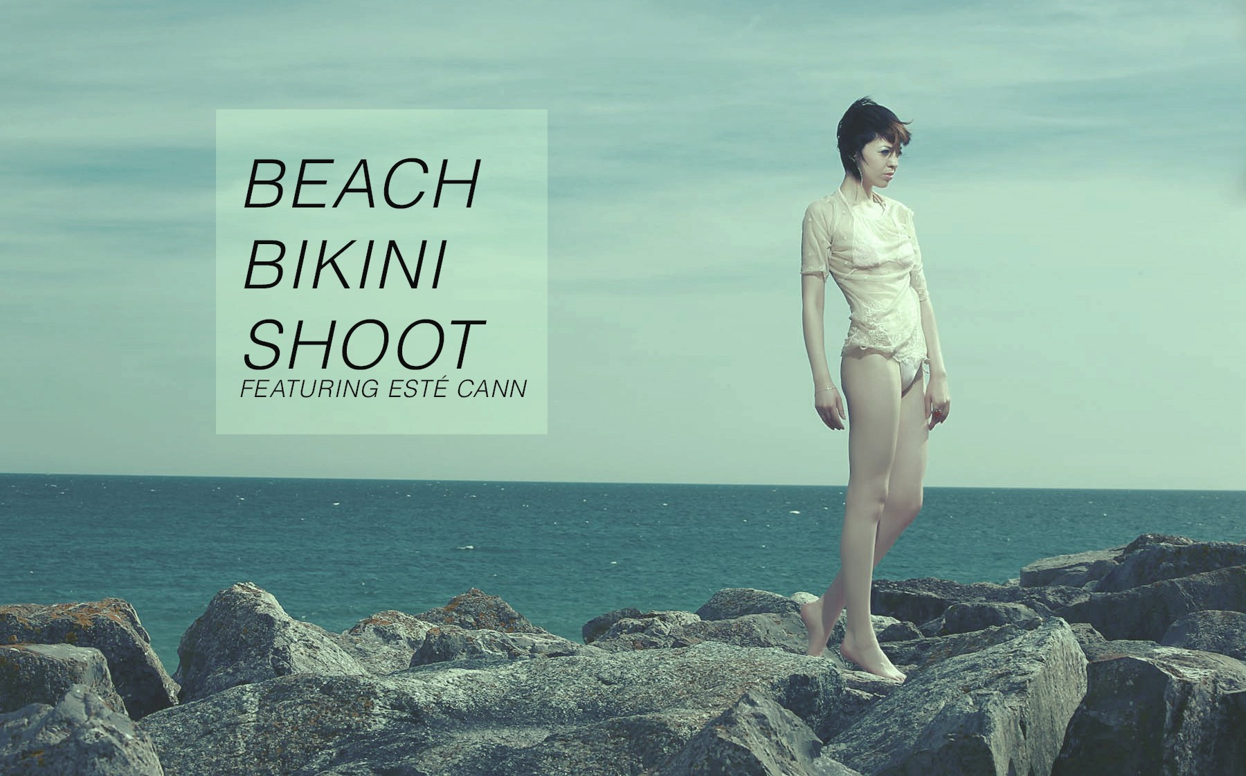 BIKINI BEACH SHOOT : CRYSTALLINE
