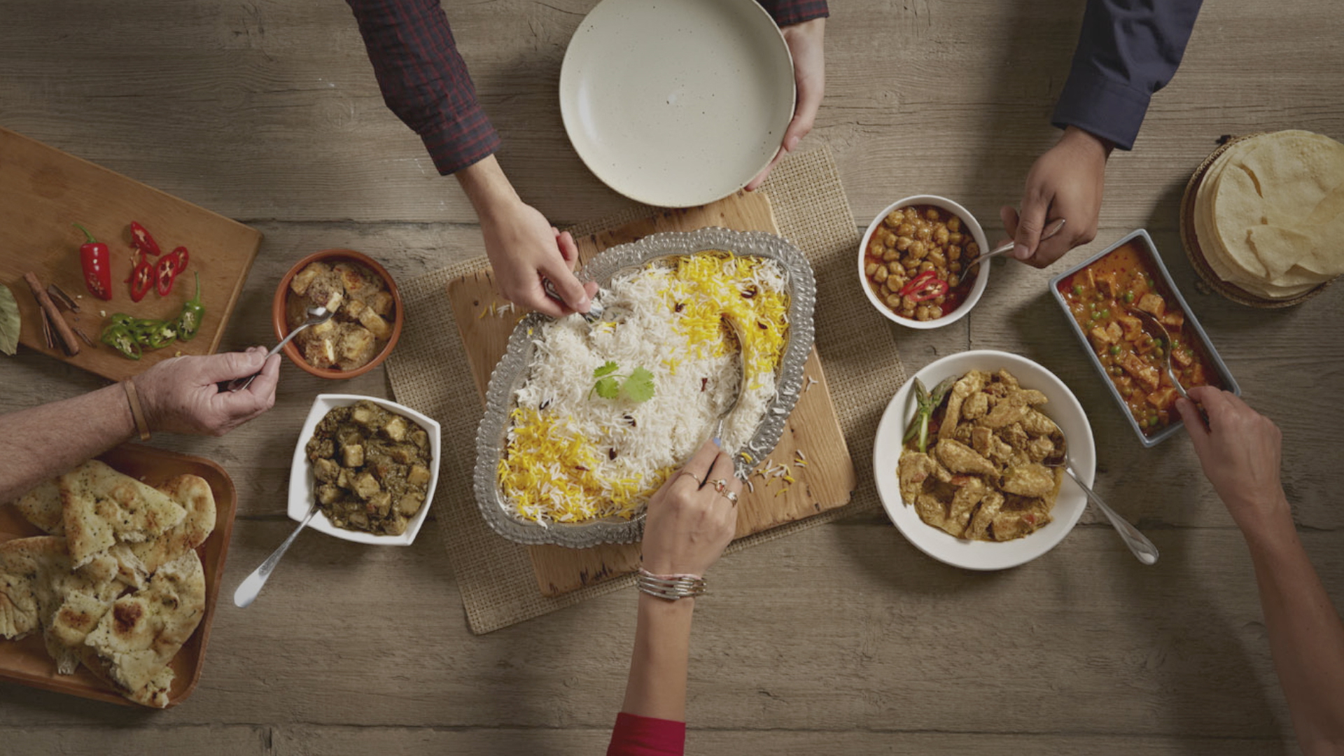 Kohinoor, True Taste Unites 30 sec TV Advert