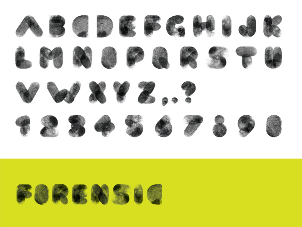 Typeface Design: Forensic