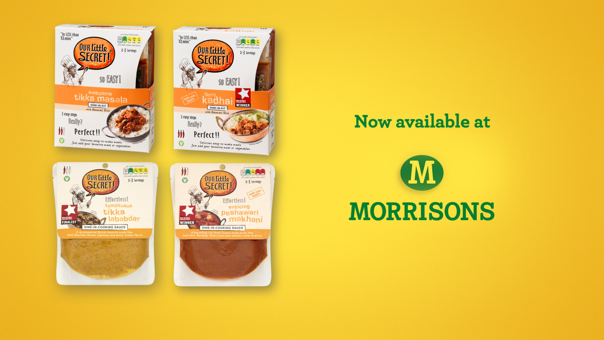 Our Little Secret : Available At Morrisons TVC