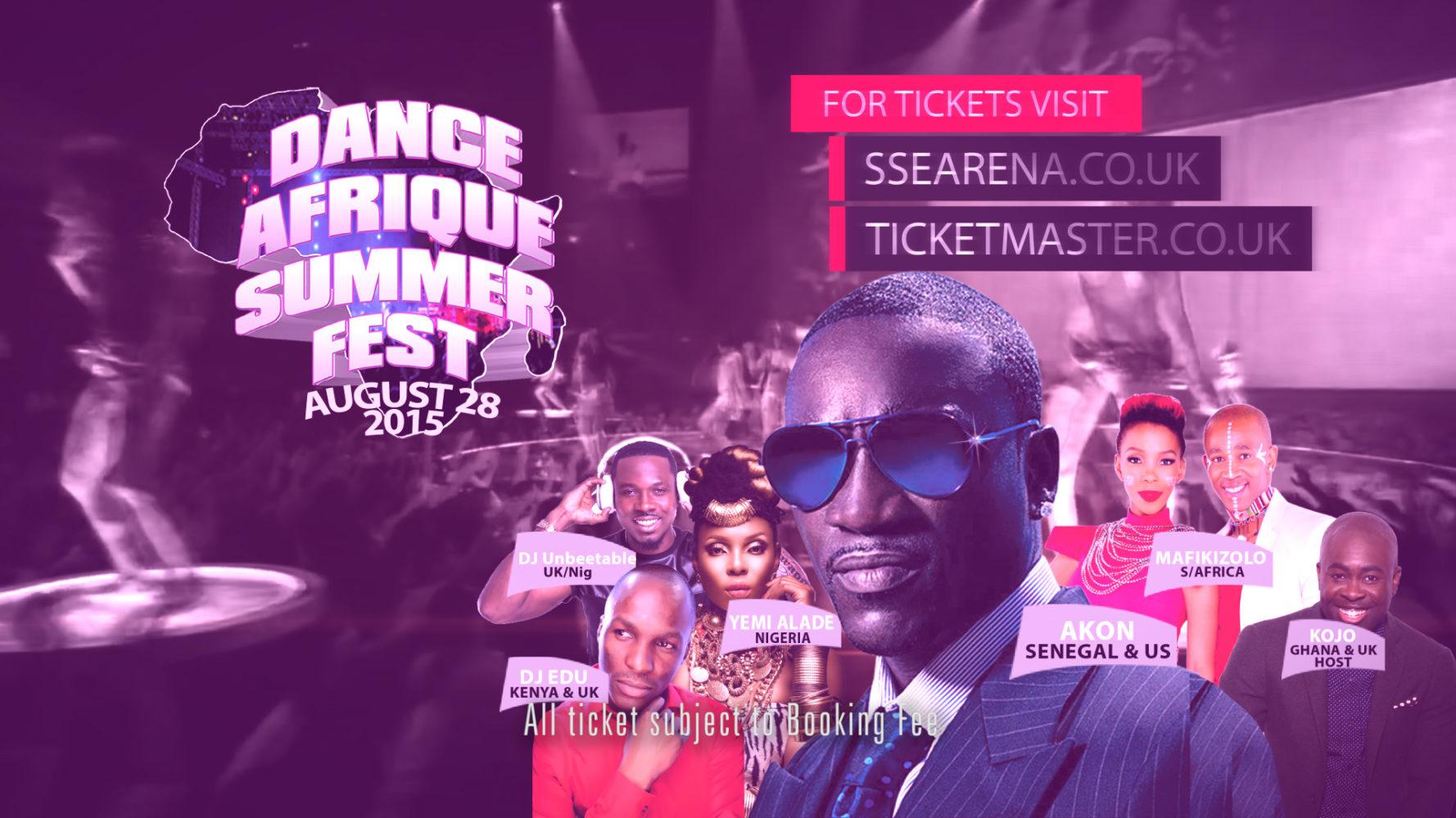 Dance Afrique Summerfest Feat AKON