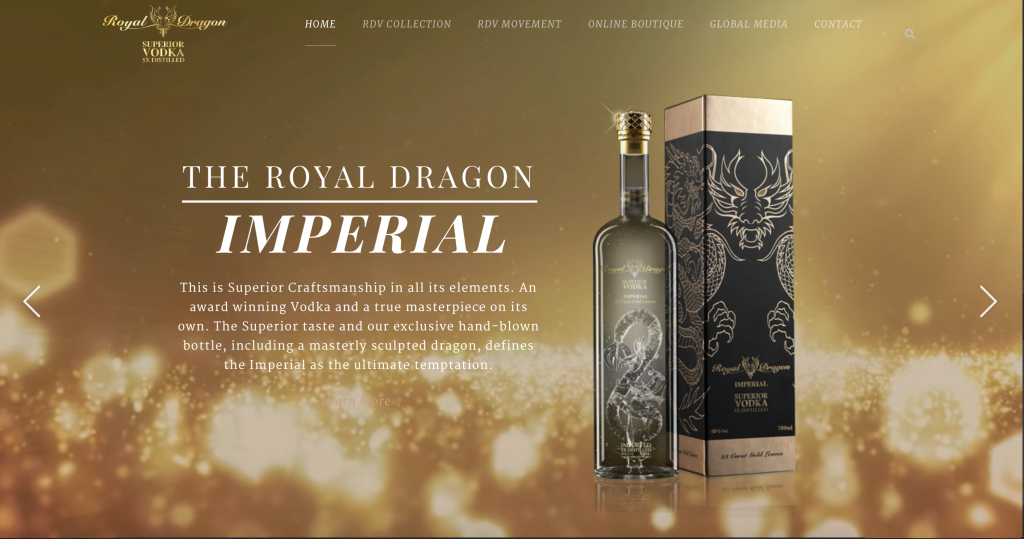 royal dragen vodka