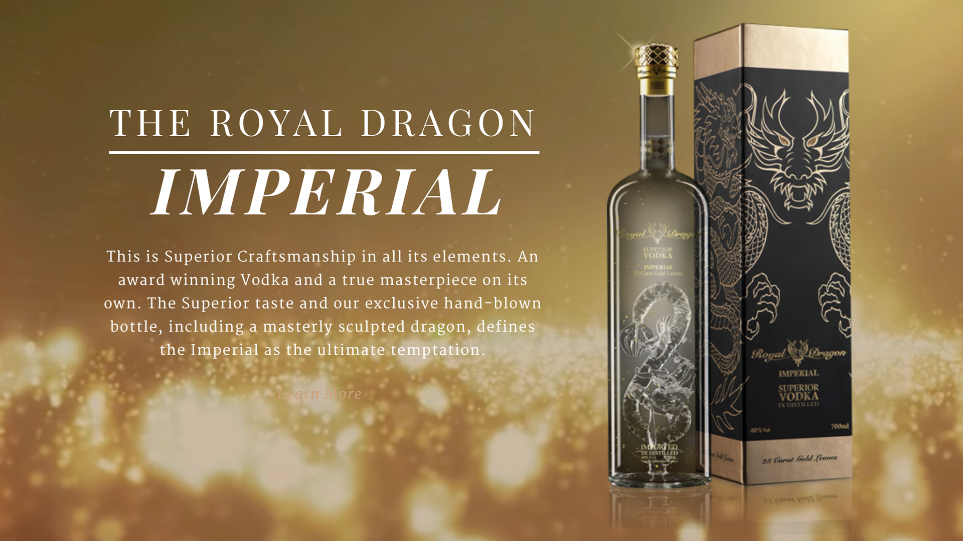 Royal Dragon Vodka UK Website