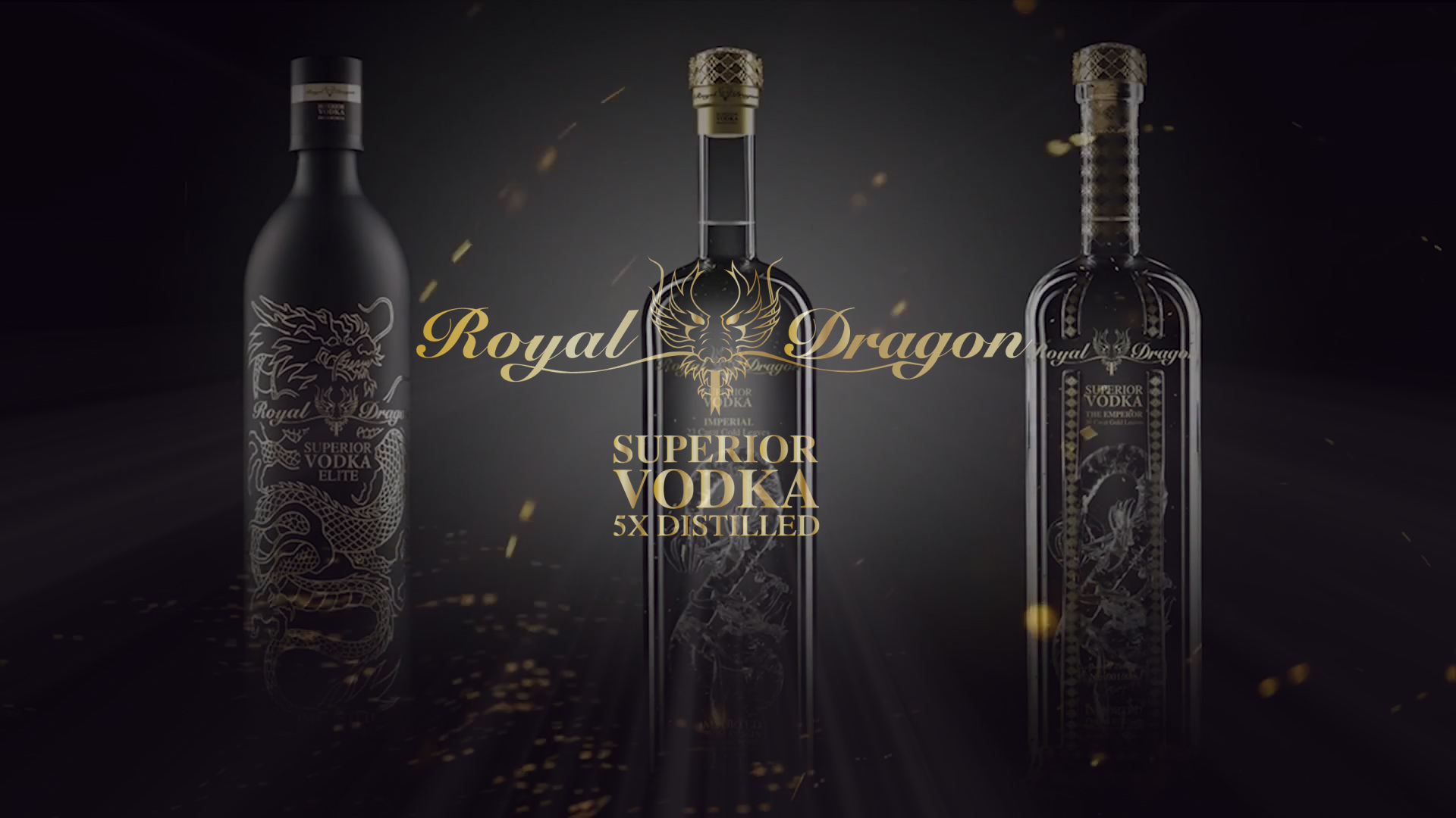 Royal Dragon Vodka TV advert