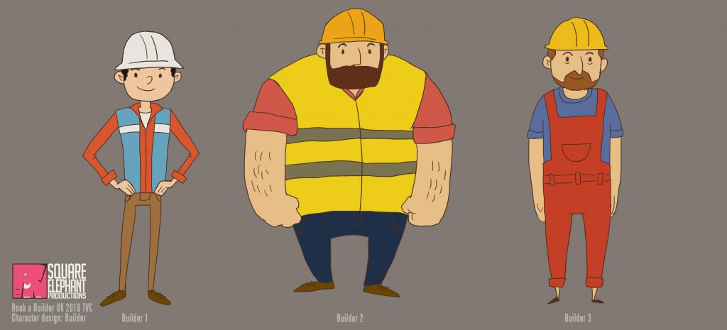 book a builder_character design_builder1