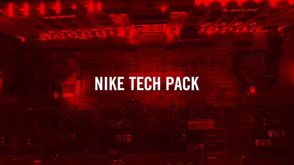 NIKE TECH PACK FIT WALL installation Video