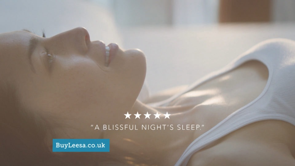 Leesa Mattress: £100 off TV advert